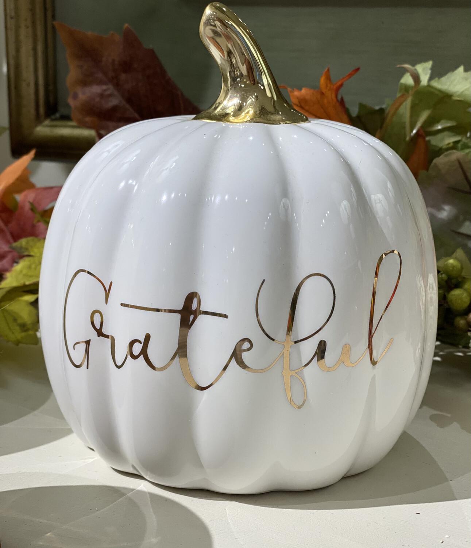 White Grateful Pumpkin - DEB