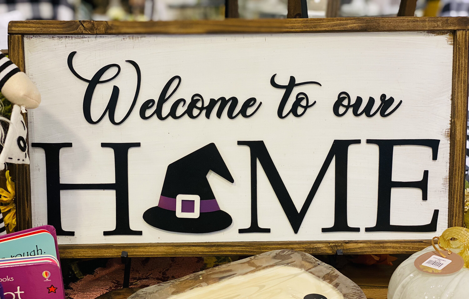 Welcome To Our Home Magnet Sign - BRI