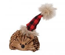 Twig Hedgehog w/ Santa Hat - 1502 - HEM