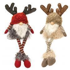 "Dangle Leg Reindeer Gnome 21"" - 1507 - HEM"