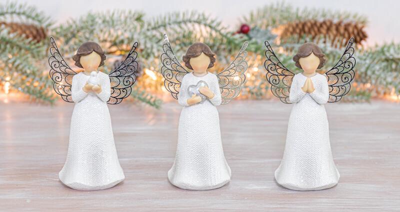 Glimmer Wings Angel Tabletop - 2182 - HEM