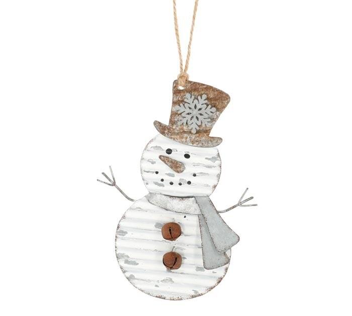 Orn Rustic Snowman - 2593 - HEM