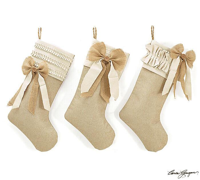 Stocking Burlap - 2619 - HEM