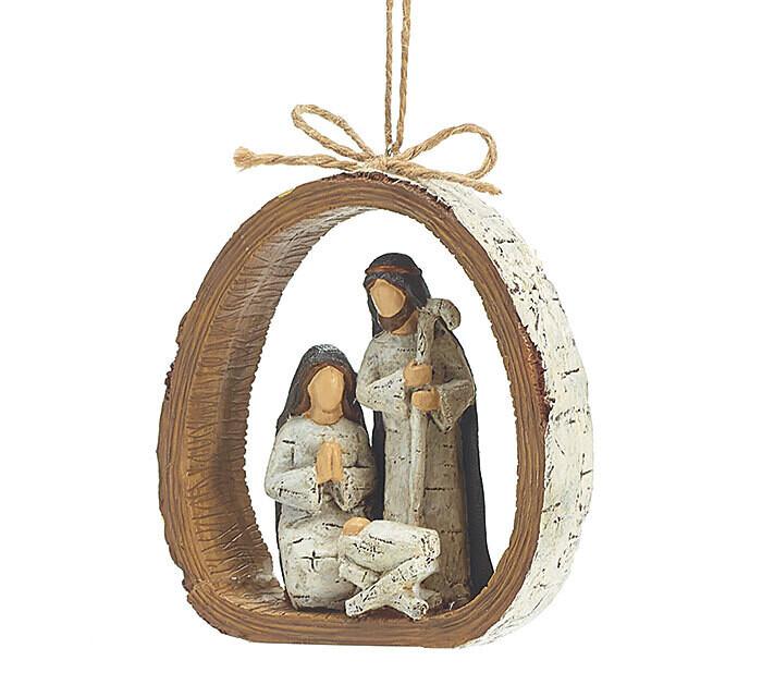Orn Holy Family Inside - 2616 - HEM