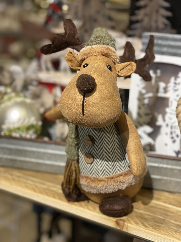 Green Sweater Moose - 1820 - HEM