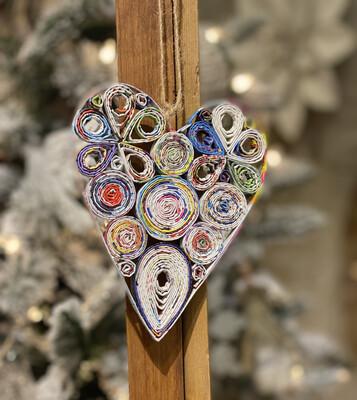 Orn Heart Recycled Mag-1228-HEM