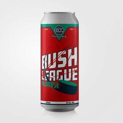 Bush League Pilsner ~ 4 Pack