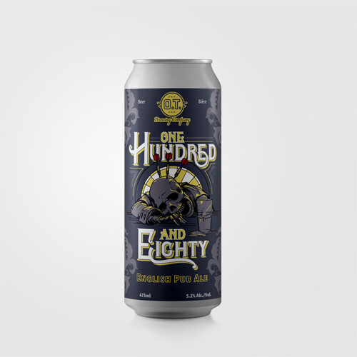 One Hundred & Eighty English Pub Ale ~ 4 Pack