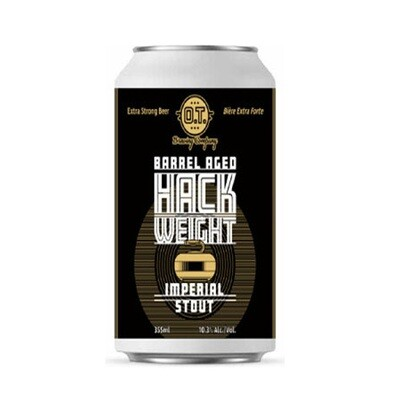 Barrel Aged Hack Weight Imperial Stout ~ Per Can