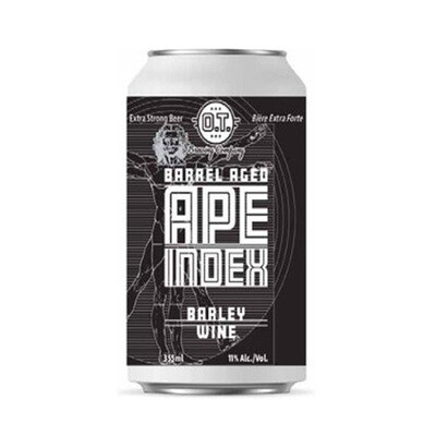 Barrel Aged APE Index- Barley Wine ~ Per Can