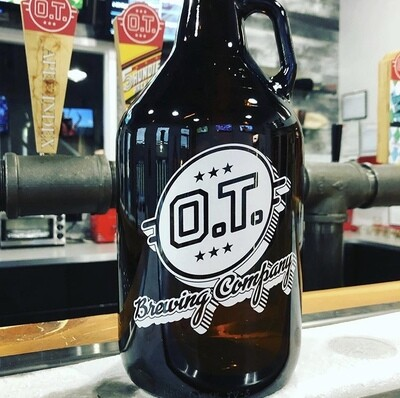 Growler - 64oz Glass