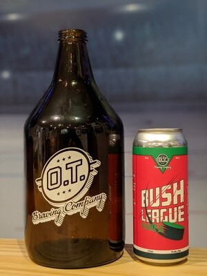 Bush League 64oz Growler & Fill