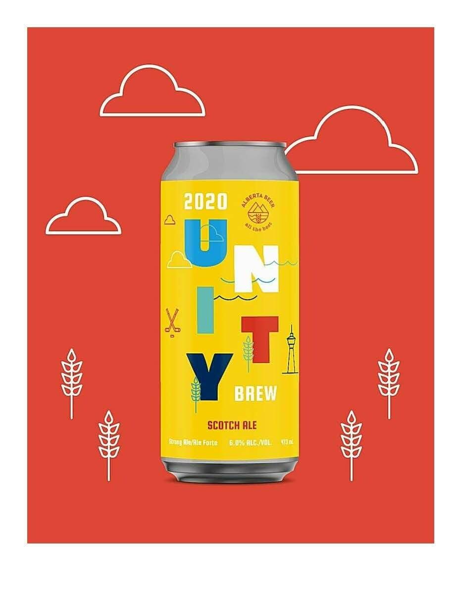 Unity Brew Scotch Ale ~ 4 Pack