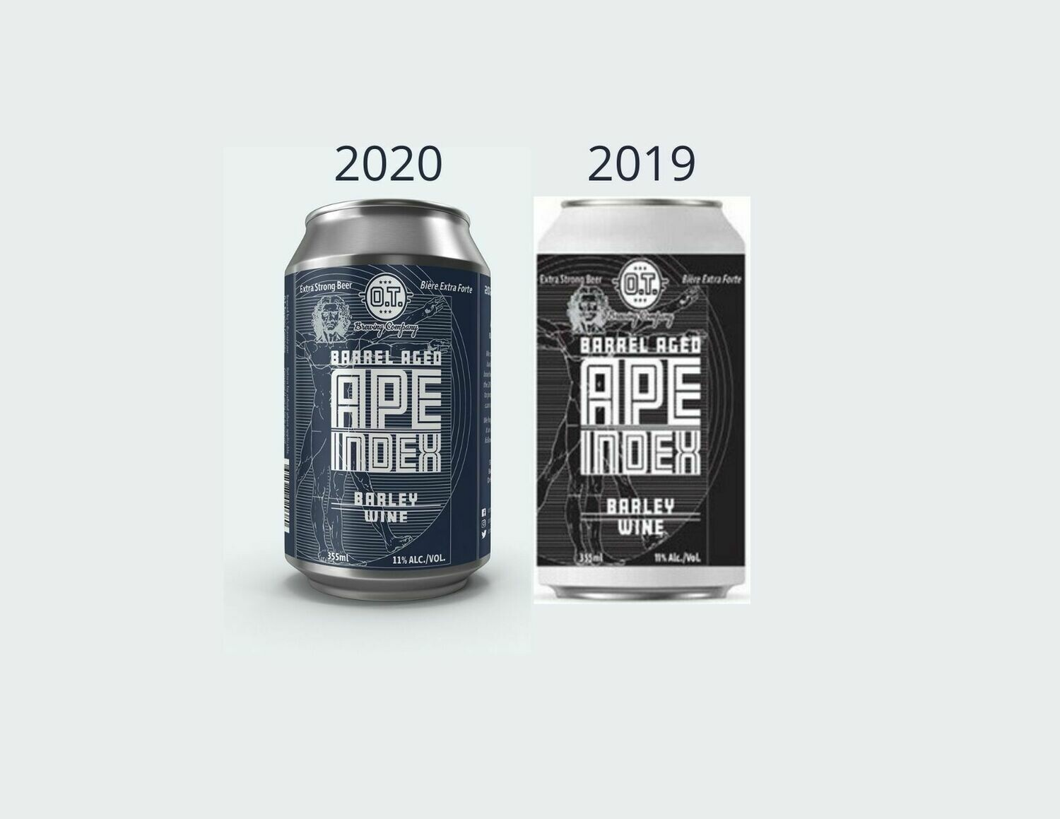 2019 & 2020 Barrel Aged Barley Wine Vertical Tasting Pack ~ 4 cans
