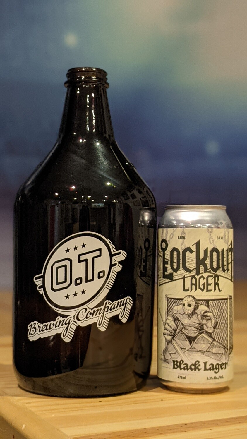 Lockout Lager 64oz Growler & Fill