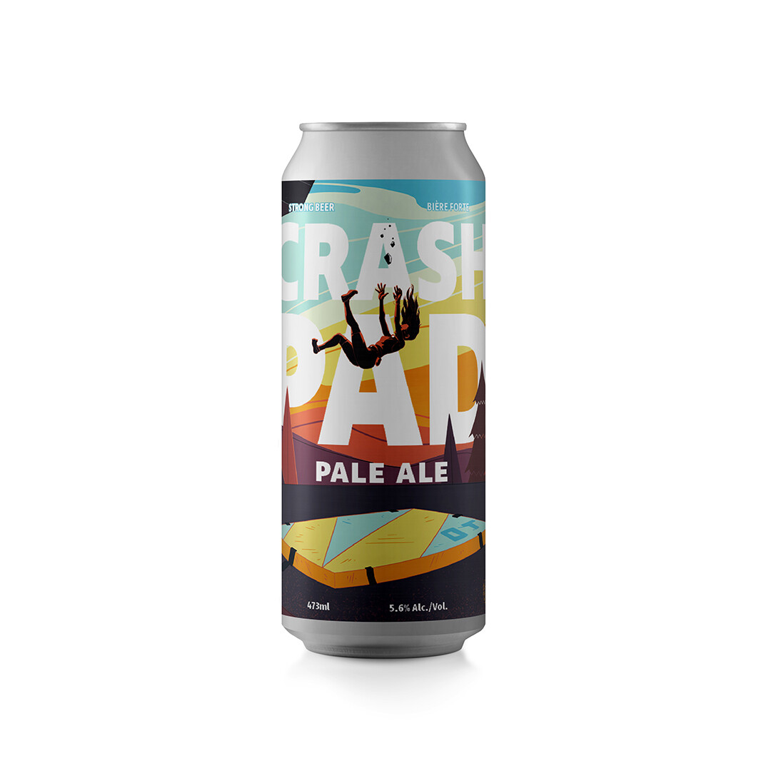 Crash Pad Pale Ale ~4 Pack