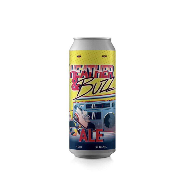 Heather & Buzz Ale Charity Beer ~ 4 Pack