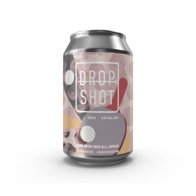 Drop Shot Barrel Aged Cider - 4 Pack - Pre order for Oct 1st