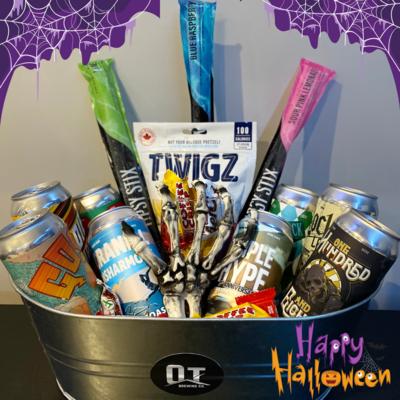 Halloween Basket - 8 Beers
