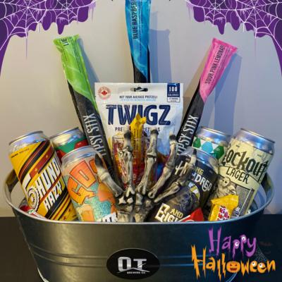 Halloween Gift Basket - 6 beers