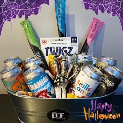 Halloween Basket - 10 Beers