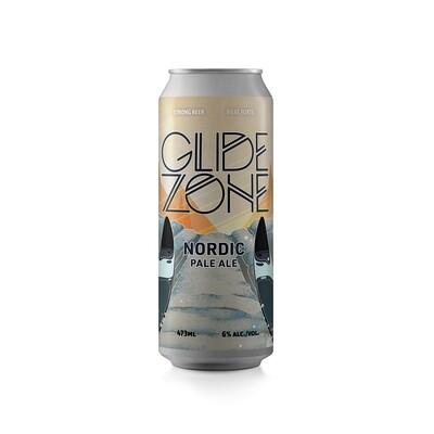 Glide Zone Nordic Pale Ale ~ 4 Pack