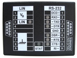Model 9003 LIN/RS-232 Data Converter