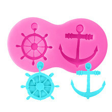 Anchor/Wheel Silicone Mold