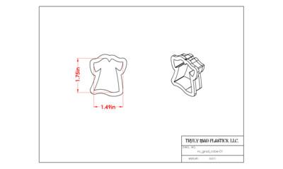 Mini Grad Robe 01
