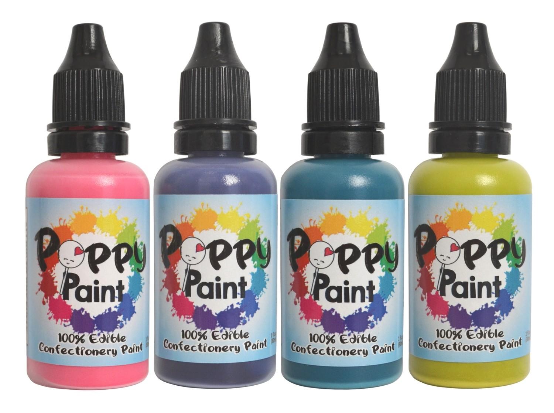 Poppy Paint Vibrant Set (100% Edible)