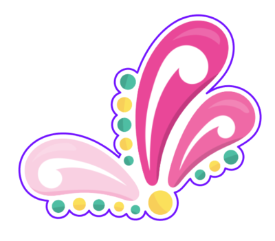 Mardi Gras Flamingo Flourish 01