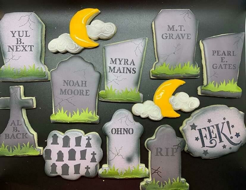 Tombstone Set 01 (Tombstone cutters Only)
