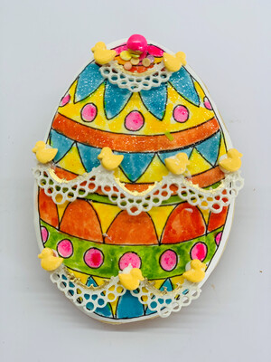 Decorated Easter Egg 01