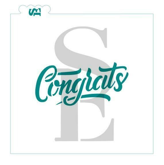 SE Congrats Stencil