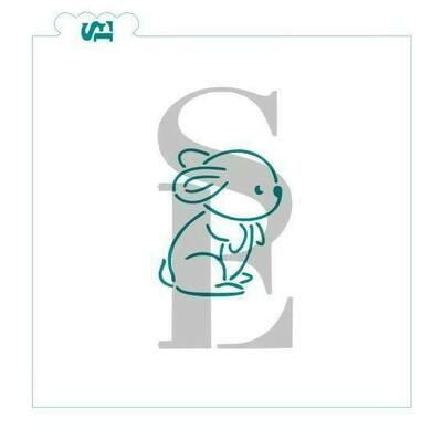 SE Woodland Bunny Stencil