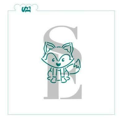 SE Woodland Fox Stencil