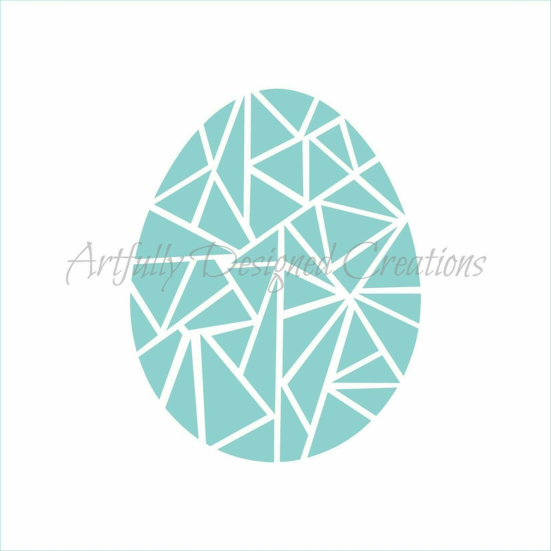 AD Blyss Geometric Egg