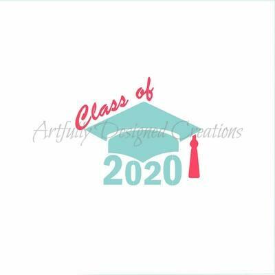 AD Class of 2020 2 piece Stencil