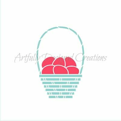 AD Basket with Eggs
