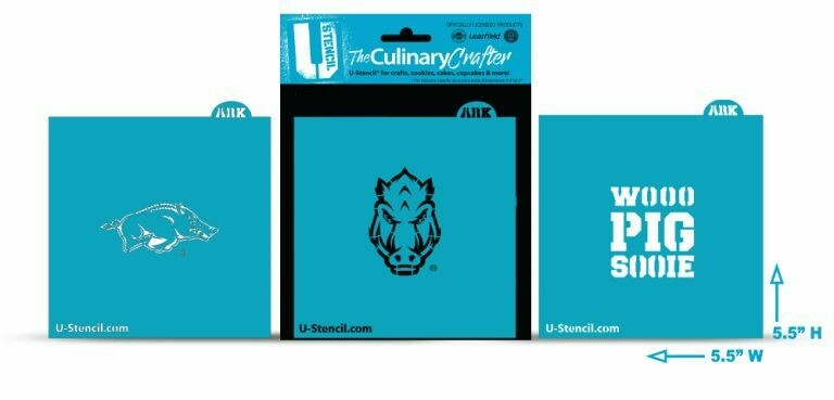 Arkansas Combo Pack A 3 Stencils (420)