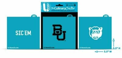 Baylor Bears Combo Pack A (3 Stencils) (420)