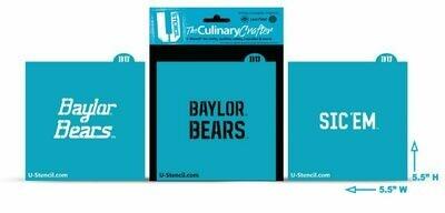 Baylor Bears Combo Pack B (3 Stencils) (421)