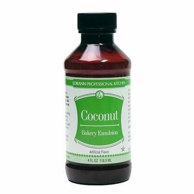 LorAnn Coconut Bakery Emulsion 4oz