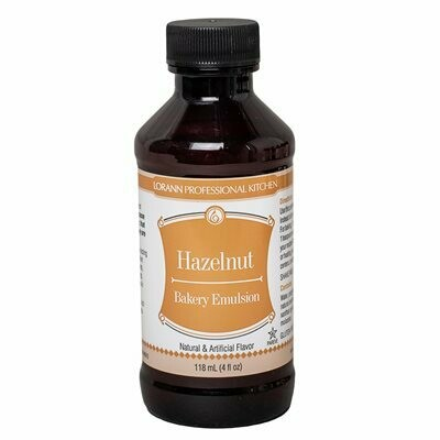 LorAnn Hazelnut Bakery Emulsion 4oz