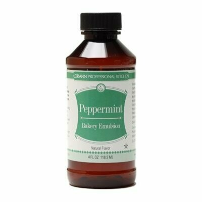 LorAnn Peppermint Bakery Emulsion 4oz