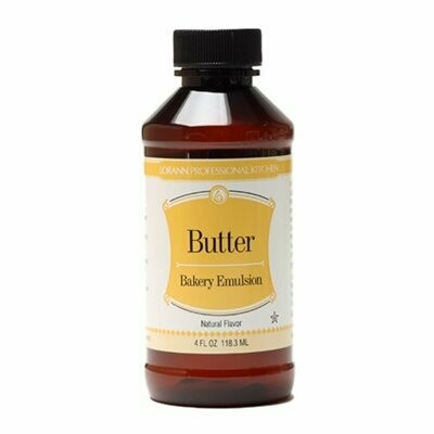 LorAnn Butter (Natural) Bakery Emulsion 4oz