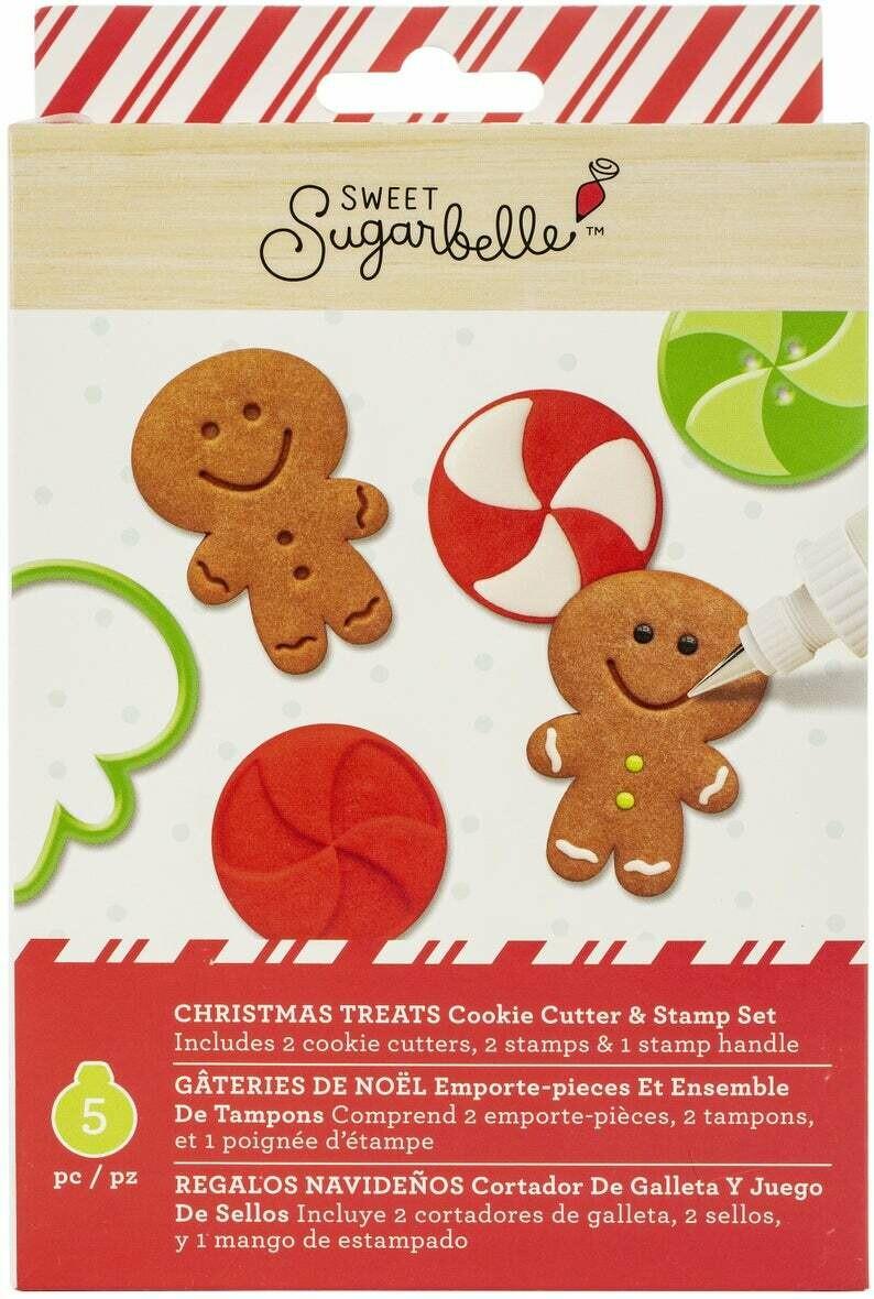 Sweet Sugarbelle Christmas Treats Cutter Set
