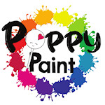 Poppy Paint Pearlescent Colors (100% Edible)