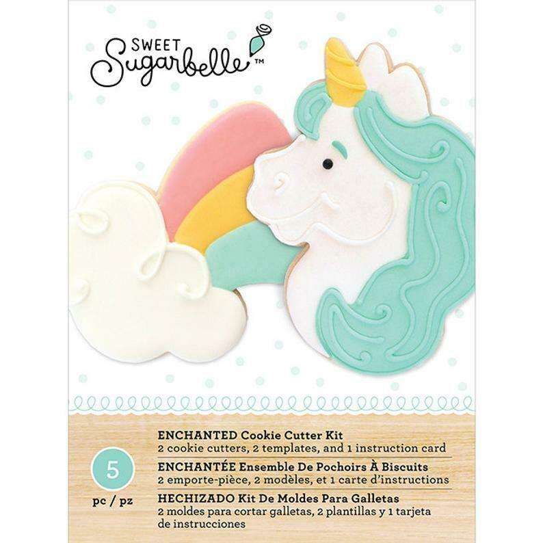 Sweet Sugarbelle Enchanted Cookie Cutter Set