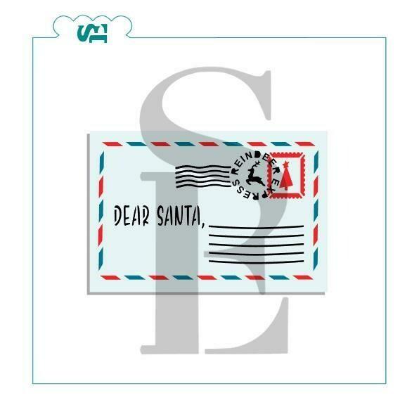 SE Dear Santa 3 piece Stencil Set